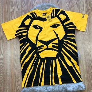 NWT 90s Disney Lion King T-shirt Size XL